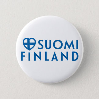 Suomi - Finland rintanapit 2 Inch Round Button