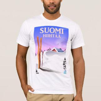Suomi Hiihtää (Finland to ski) T-Shirt