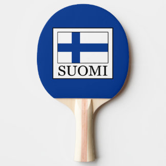 Suomi Ping Pong Paddle