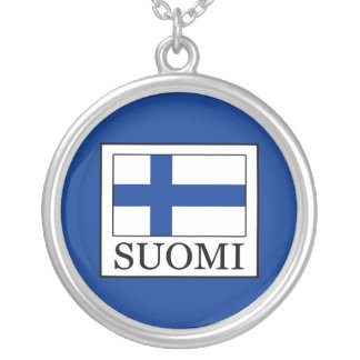 Suomi Silver Plated Necklace