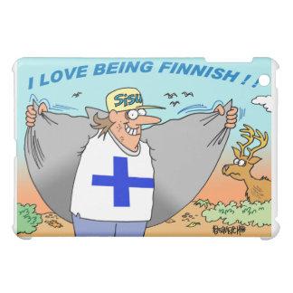 SUOMI   SUOMALAINEN   FINLAND   FINNISH iPad Cover