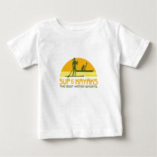 SUP and Kayak Water Sports Retro Baby T-Shirt