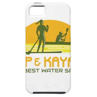 SUP and Kayak Water Sports Retro iPhone 5 Case