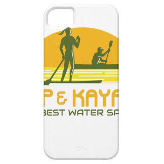 SUP and Kayak Water Sports Retro iPhone 5 Covers