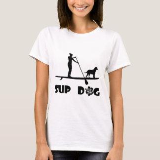 SUP Dog Standing T-Shirt