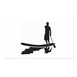 SUP FITNESS BUSINESS CARD TEMPLATES