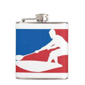 SUP Logo (parody) Hip Flask