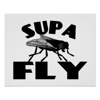 Supa Fly Poster