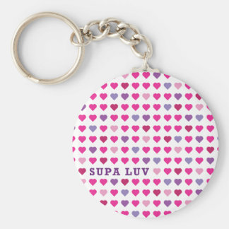 Supa Luv Key Chain