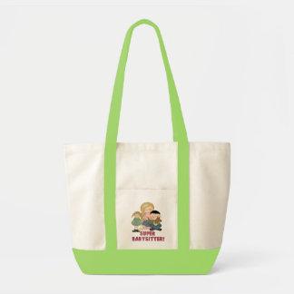 Super Babysitter Tote Bag