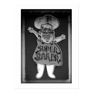 Super Baker Postcard