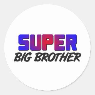 Super Big Brother Stickers