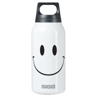 Super big smile Happy Face emoji Insulated Water Bottle