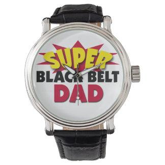 Super Black Belt Dad Watch