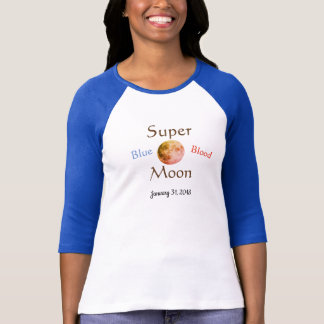 Super Blue Blood Moon T-Shirt