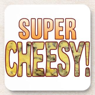 Super Blue Cheesy Coaster