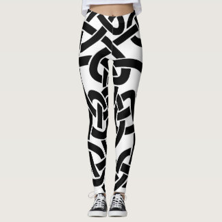 Super Bold Celtic Line Design Leggings