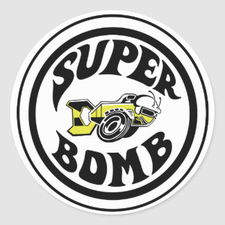 Super Bomb Sticker