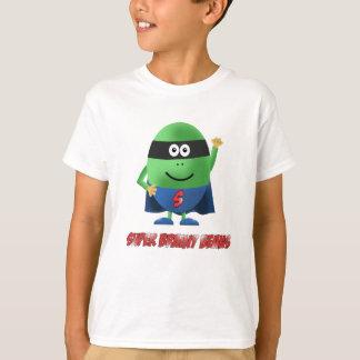 Super Brainy Beans character kids t-shirt