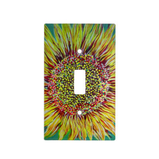 Super Bright Sunflower Acrylic Light switch Cover