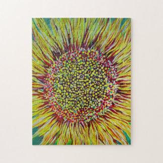 Super Bright Sunflower Designer Puzzle