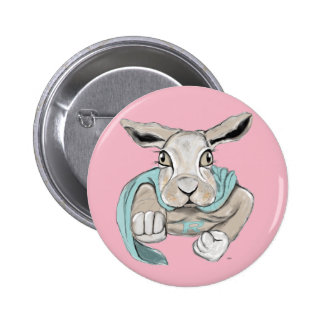 Super Bunny 2 Inch Round Button