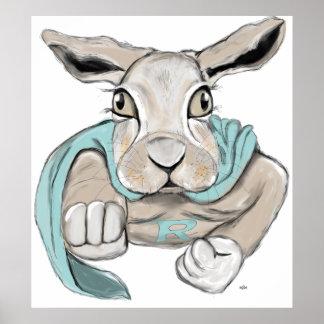 Super Bunny Poster