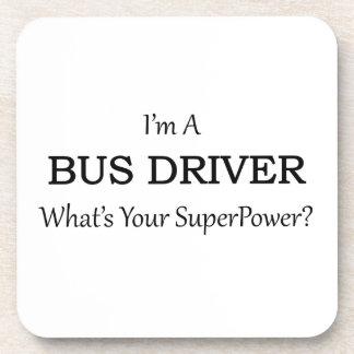 Super Bus Driver Beverage Coaster