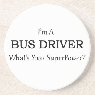 Super Bus Driver Drink Coasters