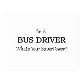 Super Bus Driver Postcard