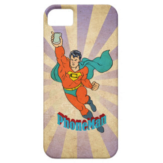 Super Cell Phone Man iPhone 5/5S Case