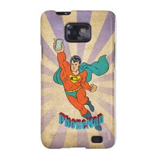 Super Cell Phone Man Samsung Galaxy S2 Case