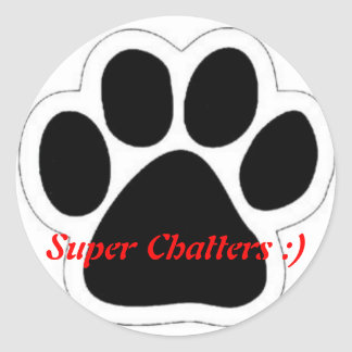 Super Chatters :) stickers