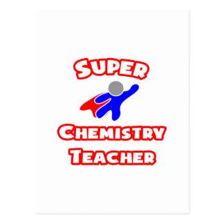 Super Chemistry Teacher Postcard