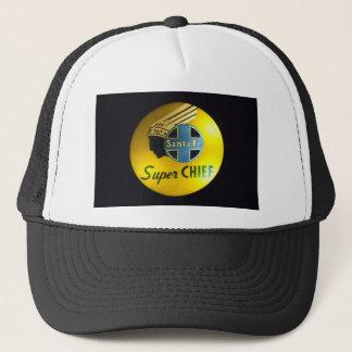 Super Chief Railroad Sign Hat