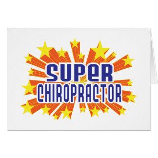 Super Chiropractor Card