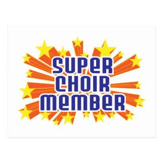 Super Choir Member Postcard