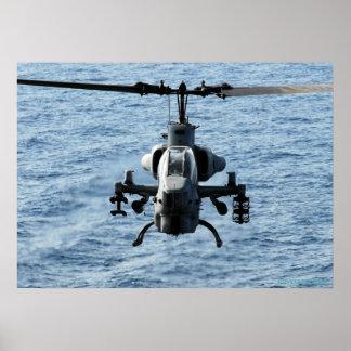 Super Cobra AH-1W Poster