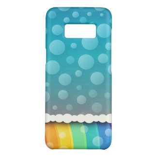 Super Colorful Bubble Pattern Case-Mate Samsung Galaxy S8 Case