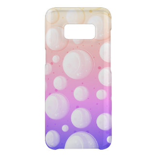 Super Colorful Bubble Pattern Uncommon Samsung Galaxy S8 Case