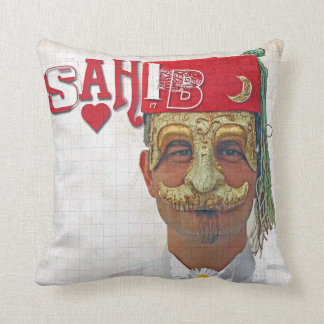 Super Cool Arabic Style Pillow! Throw Pillow