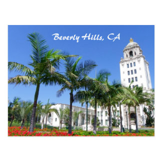 Super Cool Beverly Hills Postcard! Postcard