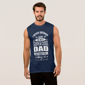 Super Cool Dad Sleeveless Tank Top