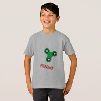 super cool green fidget spinner t-shirt