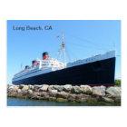 Super Cool Long Beach Postcard! Postcard