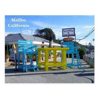 Super Cool Malibu Postcard! Postcard