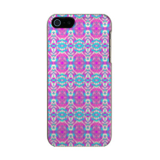 SUPER COOL Pink and Blue Abstract Pattern Incipio Feather® Shine iPhone 5 Case