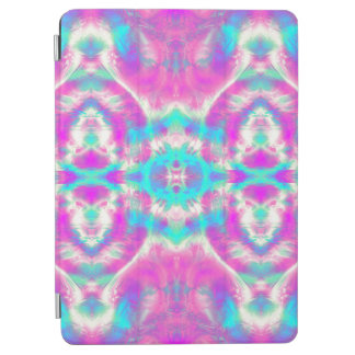 SUPER COOL Pink and Blue Abstract Pattern iPad Air Cover