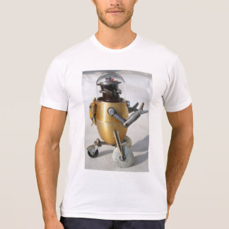 super cool retro atomic robot tee