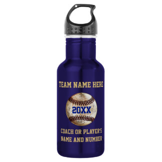 Super Cool Vintage Baseball Gifts PERSONALIZED 532 Ml Water Bottle